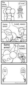 Same Arms! by DeathToSquishies
