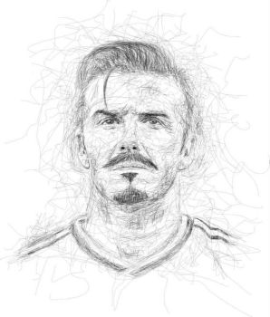 David Bechkam in Ngawor Drawing by viqh