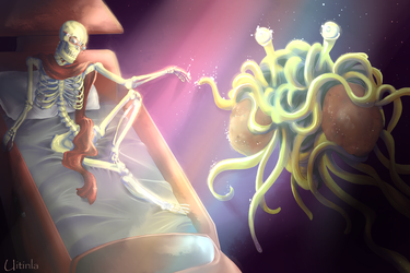 PAPYRUS The Spaghetti Lord by Uitinla