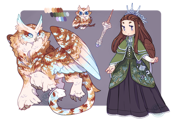 Custom Design ~ Oscorix by LunarAdopts