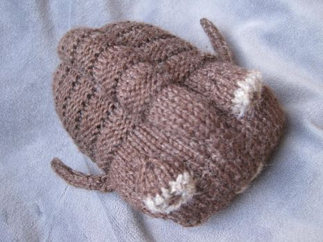 Knitted Trilobite by sentienttree