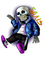 Sans by Beegbot