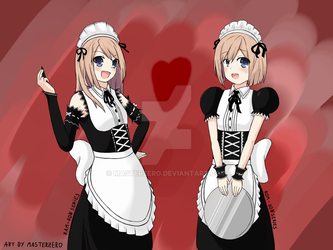 Twin Maids Finish by MasterZero