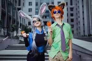 Nick and Judy by fenixfatalist