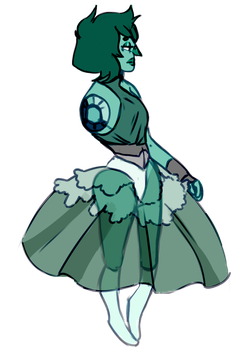 Smithsonite pretty dress by SmasherlovesBunny500