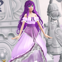 OC Outfit Ask #3: Royal Purple by Reseliee