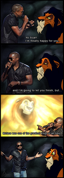 Kanye West vs. TLK meme 2 by charfade