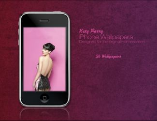 Katy Perry - iPhone Wallpapers by Drakkinstorm