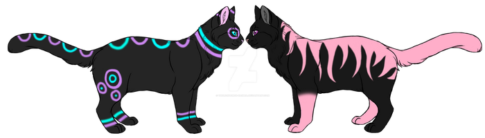 Rave Spot And Pink Stripe by theliondemon-kaimra