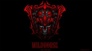 Wildhorse-Skull Shield by ErikVonLehmann