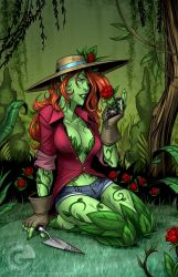 Poison Ivy: Horticultural Enthusiast by GarthFT