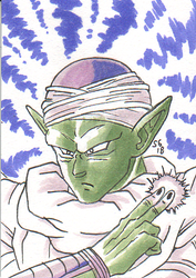 Copic Colors June '18 Challenge : Piccolo by SoVeryUnofficial
