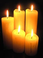 Candles Stock by Malleni-Stock