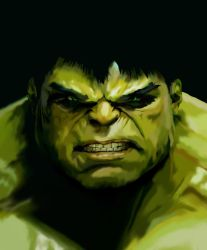 The Incredible Hulk by Tekkna
