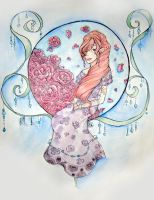 Roses Watercolour by fruits-basket-head