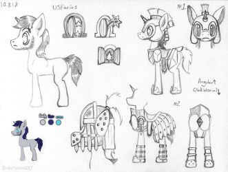 Ustiarius Concept Art [The Tale of Two Sisters] by UnderwoodART
