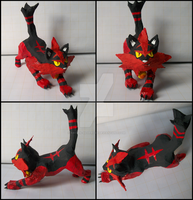 Paper Mache Torracat Sculpture