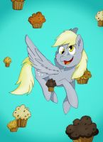Derpy Hooves - Derpy Day by PapyJr13