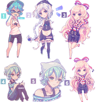 Pixel commission batch [Speedpixel] by Lanahx3