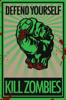 Defend Yourself - Kill Zombies by vaginasaurus-rex