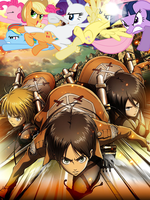 Attack on Titan: The Ponies Among Us by moviemaster8510