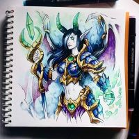 Instaart - Dreadlord Jaina by Candra