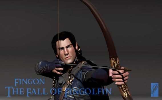 Fingon 3D Render - Detail by Breogan