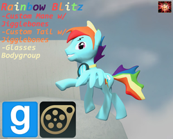 Gmod/SFM Ponies [DL]: Real Rainbow Blitz by Benno950