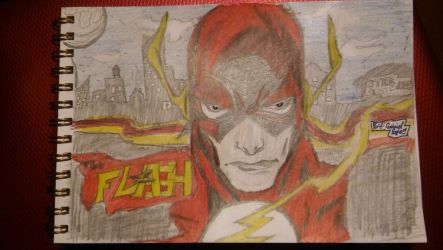 The Flash by gabrielsart89