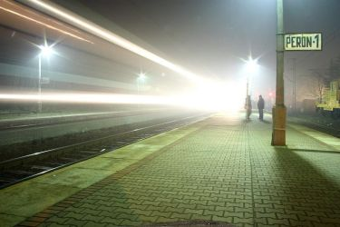 train lights by coonta