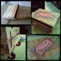DIY - Repurpose Wooden Pallet Table by LuthienThye