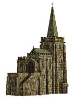 Church 2 PNG Stock by Roy3D