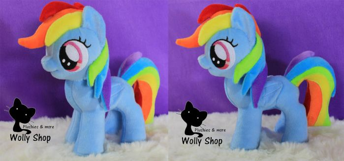 Rainbow Dash Filly for sale on ebay by Vegeto-UchihaPortgas