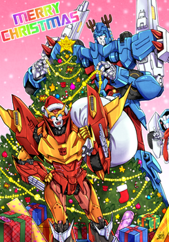 MTMTE Rodimus and Ultra Magnus by k-tack