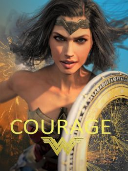 Wonder Woman: Courage 3 by DahriAlGhul