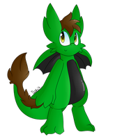 Gift Spree Day 2: Green Drgn by HavocDusk