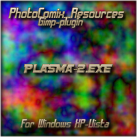 Plasma2 for Gimp -windows by photocomix-resources