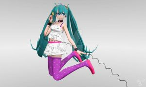 MMD - Redial Miku by Ina-C