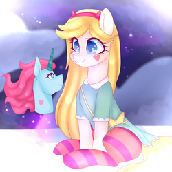 Star Vs The Forces of Evil (MLP) by TheCreativeRey