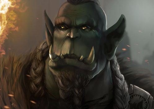 Ragoth, Blackrock Orc Commission by Characterstudio