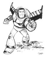 daily sketch buzz lightyear by gravyboy