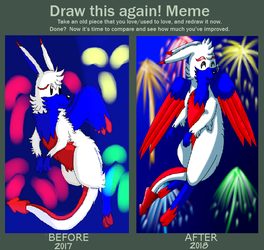 4th Of July Before and After. by DemonLouie