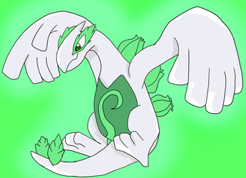 Lugia The Plant Type by JuiceboxDraws