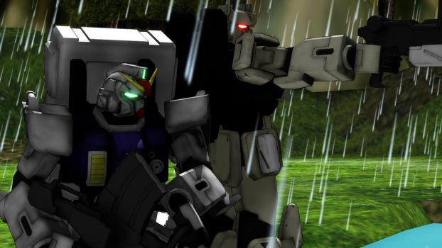 [MMD] Gundams in the Jungle by tuestpwned