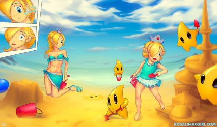 Special - Summer wallpaper by Harmonie--Rosalina