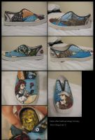 PIrates of the Caribbean-Shoes by Loia