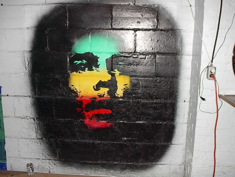 Marley wall mural by RynoCreations