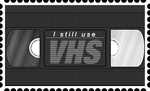 VHS Stamp by RetroUniverseArt