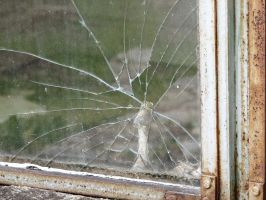 Cracked Window by Altaria13-Stock