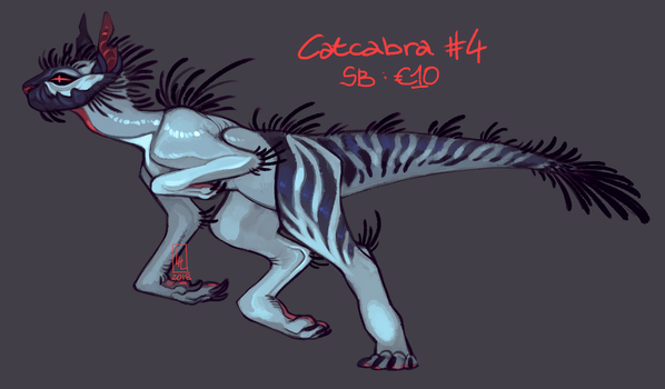 Catcabra #4 AUCTION by LiLaiRa